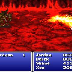 Blaze (Red Dragon version) in <i><a href=