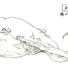 Concept art of <i>Final Fantasy VI'</i>s Bismarck by <a href=