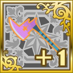 Poison Axe +1 in <i>Final Fantasy Airborne Brigade</i> (SR+).