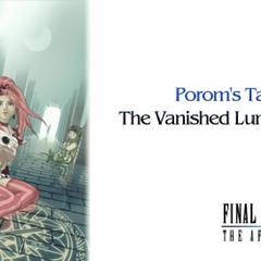 Porom's Tale screen (PSP).