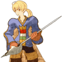 CG Render of Ramza from <i>Final Fantasy Tactics: War of the Lions</i>.