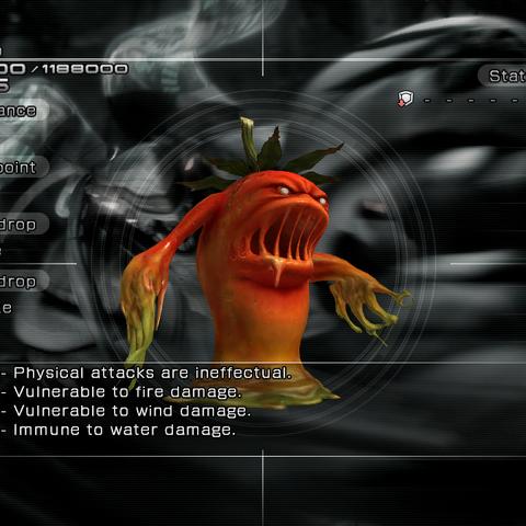 The Rotten Tomato's enemy intel.