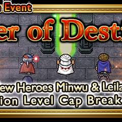 Global event banner for Seer of Destiny.