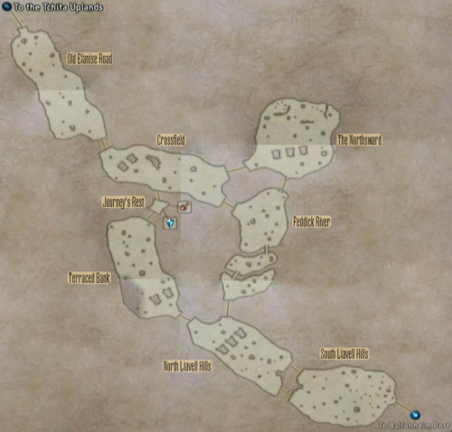 FF12 Map - Cerobi Steppe