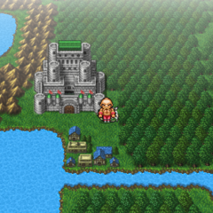 Troia on the world map (PSP).