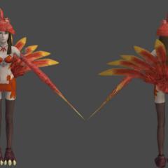 Chocolina's in-game render.