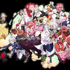 Artwork for <i>Final Fantasy XIV: A Realm Reborn'</i>s 1 year anniversary event.