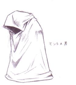 Sephiroth Clone artwork by Tetsuya Nomura.
