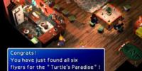 Turtle's Paradise sidequest