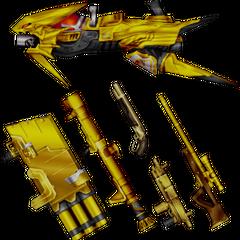 Laguna's EX Mode weapons.