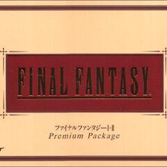 <i>Final Fantasy Premium Package</i><br />Sony PlayStation<br /> Япония, 2002 год.
