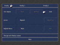 FFIII iOS Config 1 Menu