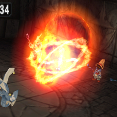 Light Flare in <i>Final Fantasy IX</i>.