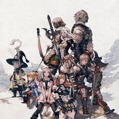 Akihiko Yoshida artwork used on a poster.