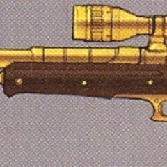 Concept art of the Sniper Rifle in EX Mode.
