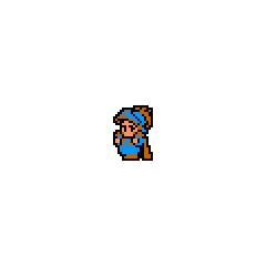 Синий Луковый Рыцарь из NES-версии.