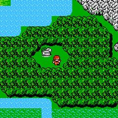 Gatrea on the World Map (NES).