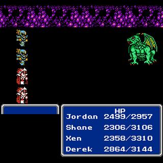 A Back Attack (NES).