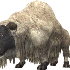 A sheep in <i>Final Fantasy XI</i>.