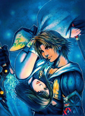 File:FFX-TidusYuna artwork.jpg