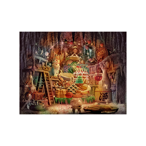 Quan's Dwelling during Quina's vision.