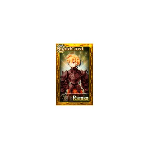 Gold card.