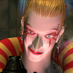 Kefka in a HD FMV screenshot.