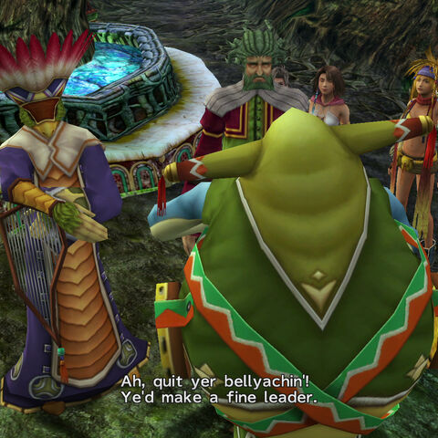 Tromell becomes leader of the Guado in <i>Final Fantasy X-2</i>.