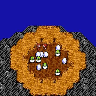 Bahamut's Nest (NES).