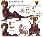 Red Dragon Monster LR XIII