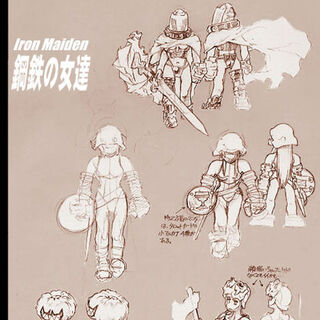 Early concept for different soldier designs.