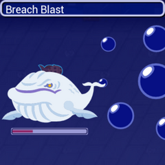 Breach Blast in battle.