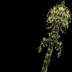 Manikin Staff of the Magi in <i>Dissidia 012 Final Fantasy</i>.