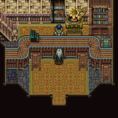 Maranda's weapon shop (GBA).