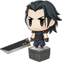 Buster Sword with Angeal in <i><a href=