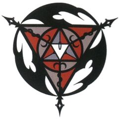 Concept artwork of Kuja's emblem, seen as the extraction circle at Mt. Gulug.