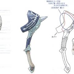 Concept artwork for the Mythril Racket.