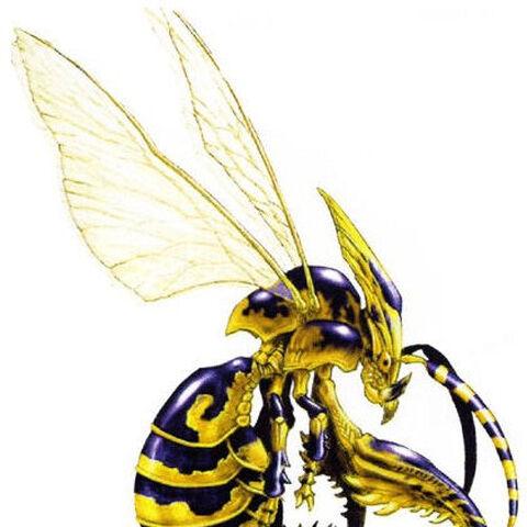 Wasp artwork.