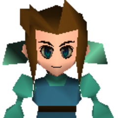 A young Aeris.