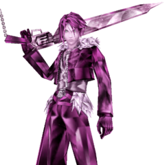 Squall's manikin, Transient Lion.