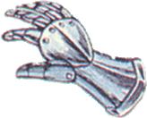 Bronze Gloves FFII Art