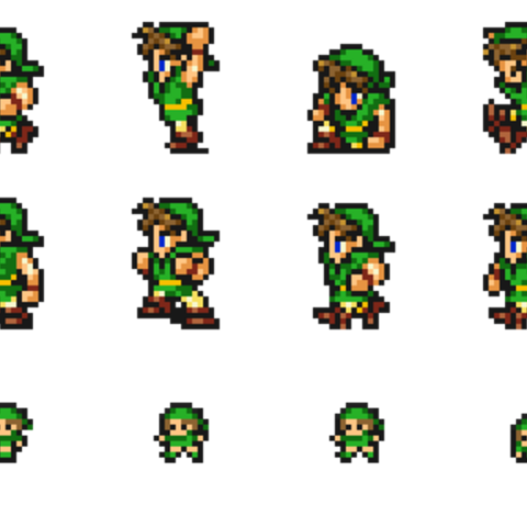 Sheet of Thief's sprites.