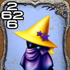 Krile as a Black Mage.