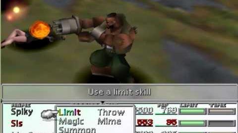 Final Fantasy VII - Limit Break Compilation - Barret Big Shot