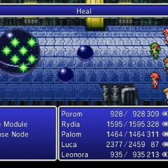 Heal used as an enemy ability in <i><a href=