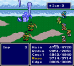 FFIV SNES Ice-3