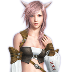 Miqo'te Dress in <i>Lightning Returns: Final Fantasy XIII</i>.