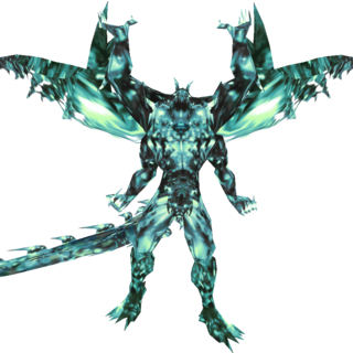 Feral Chaos' alternate appearance in EX Mode.