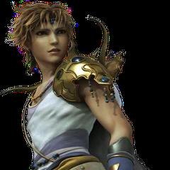 FMV render of Bartz from <i>Dissidia Final Fantasy</i>.
