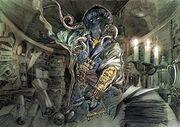XI Blue Mage Artwork